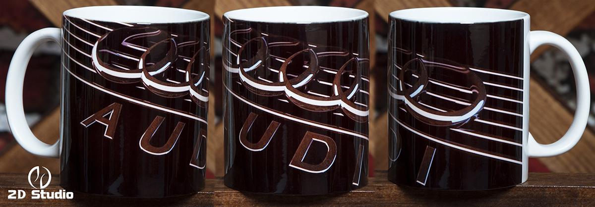 Кружка с логотипом AUDI