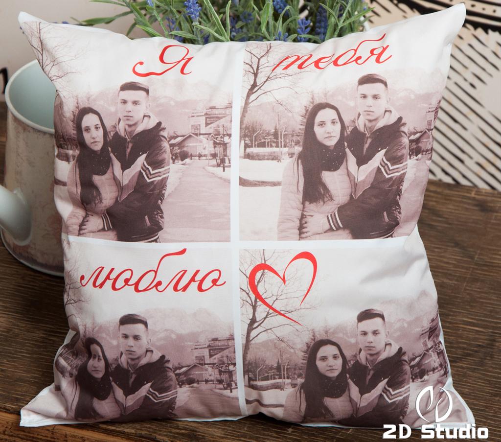 Подушка с фото