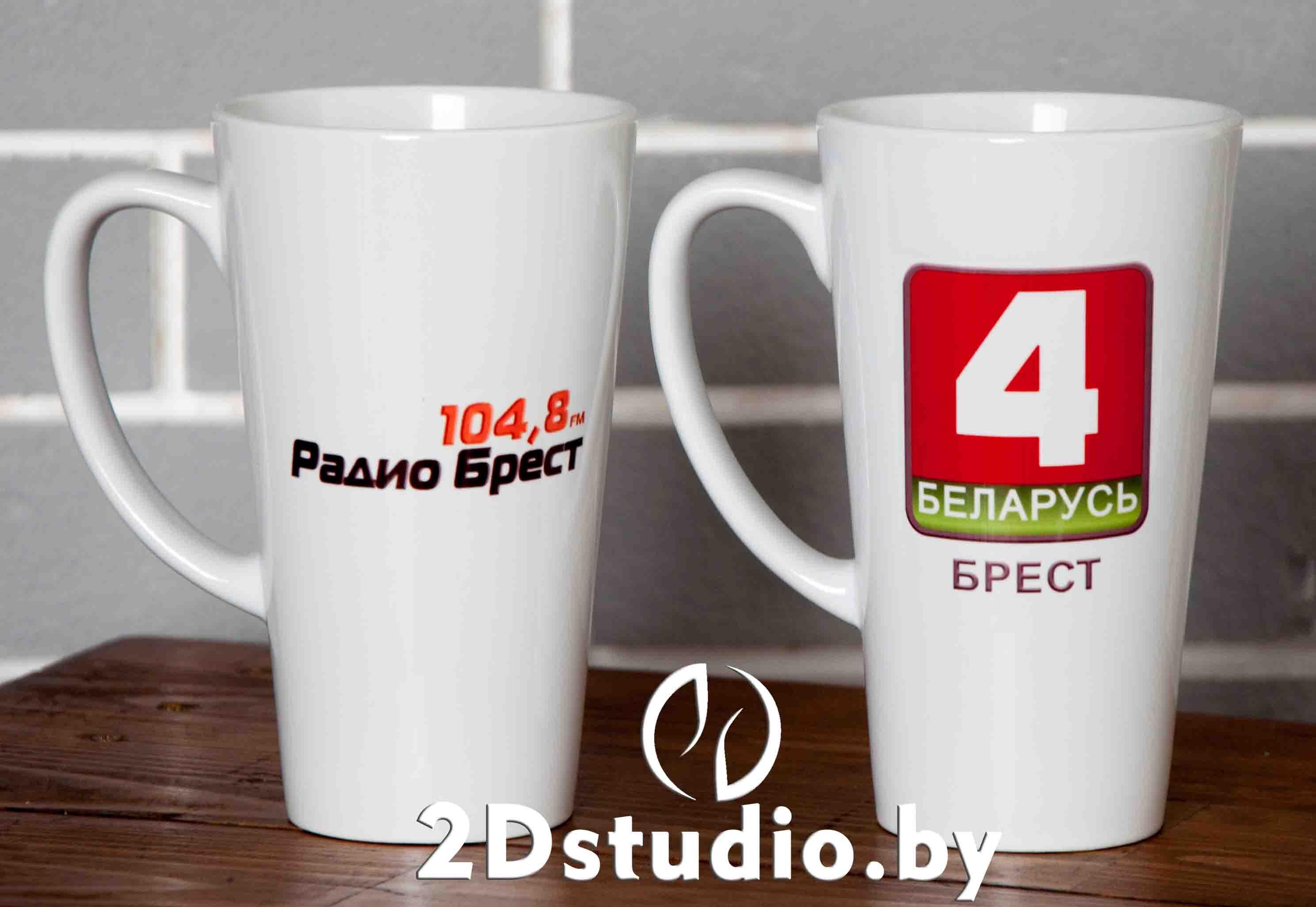 Кружки латте с логотипом Беларусь 4