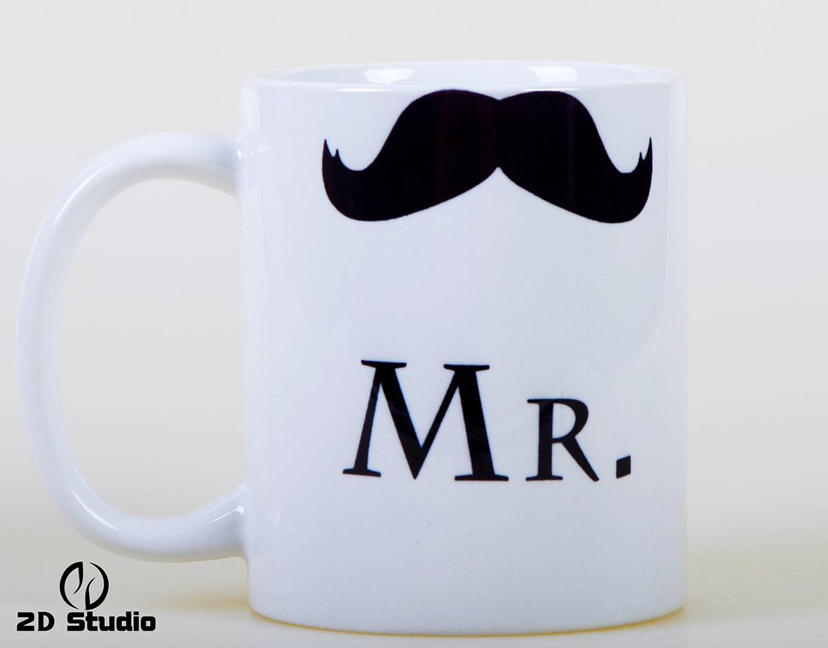 Кружка Mr с усами