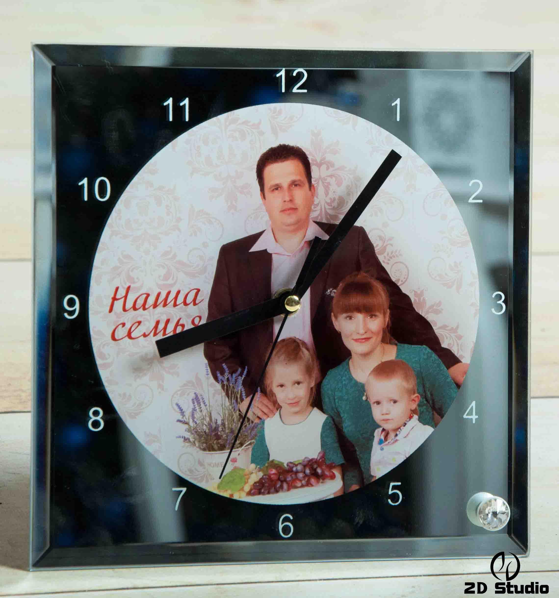 часы с фотографией на заказ Брест