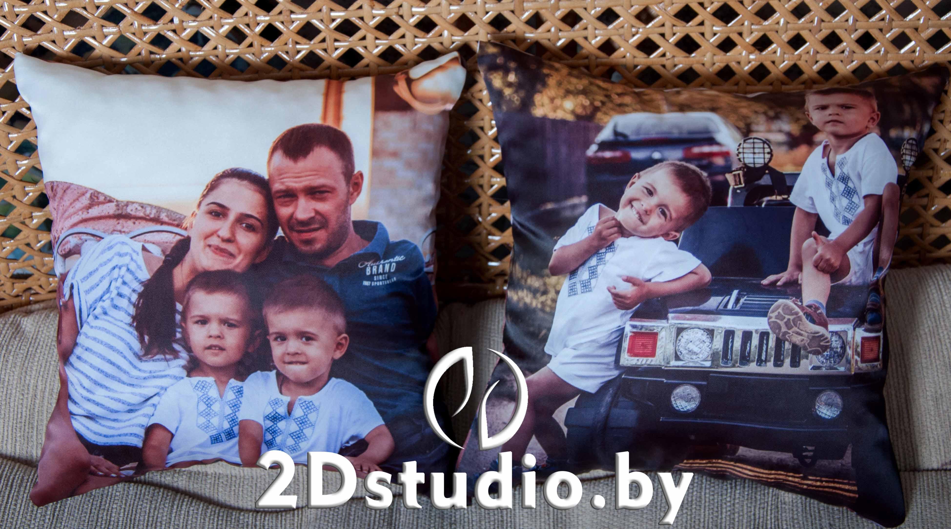 Подушка с фотографиями на заказ