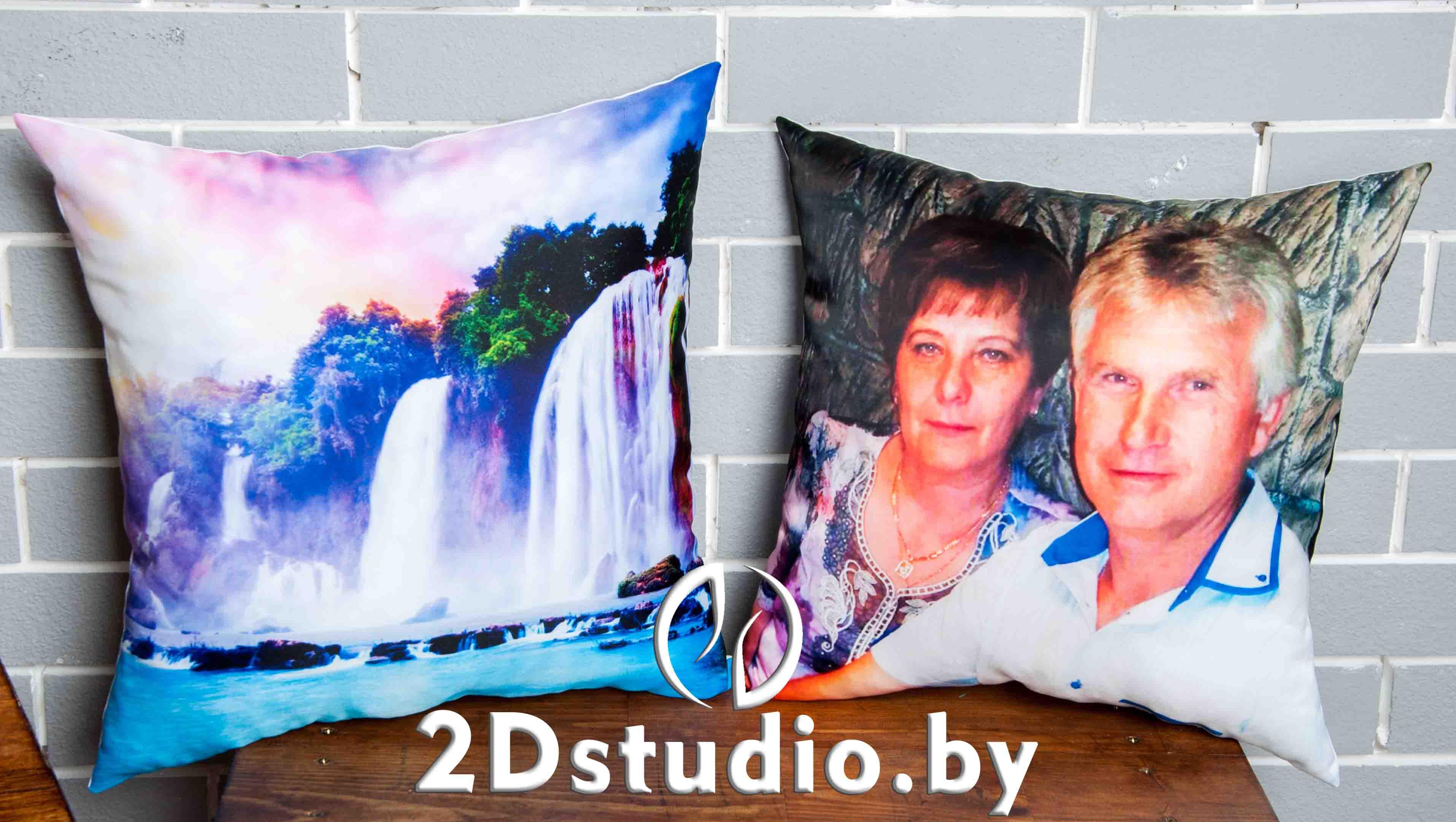 Подушка с фотографиями на заказ Брест