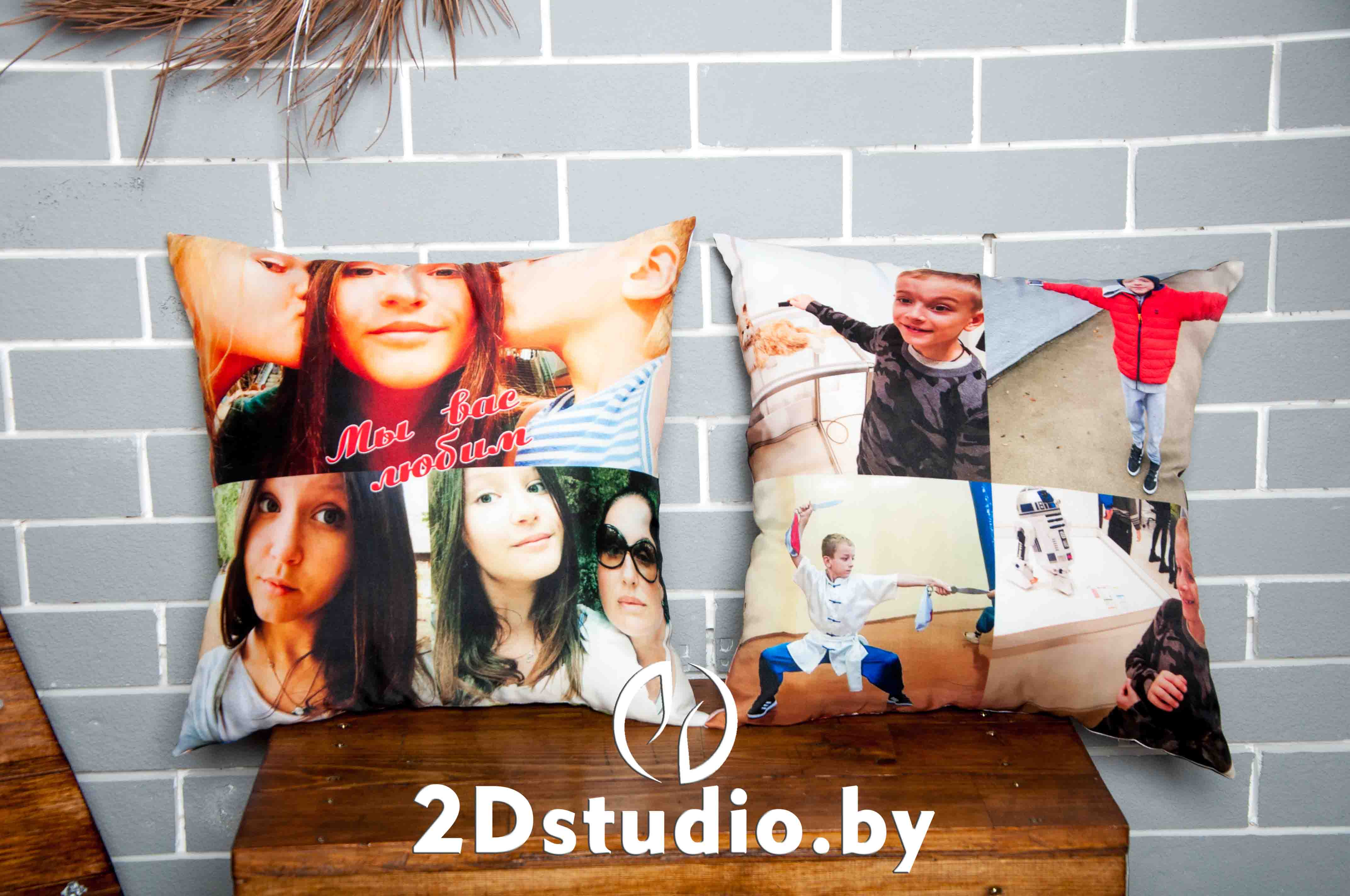 подушки с фото брест
