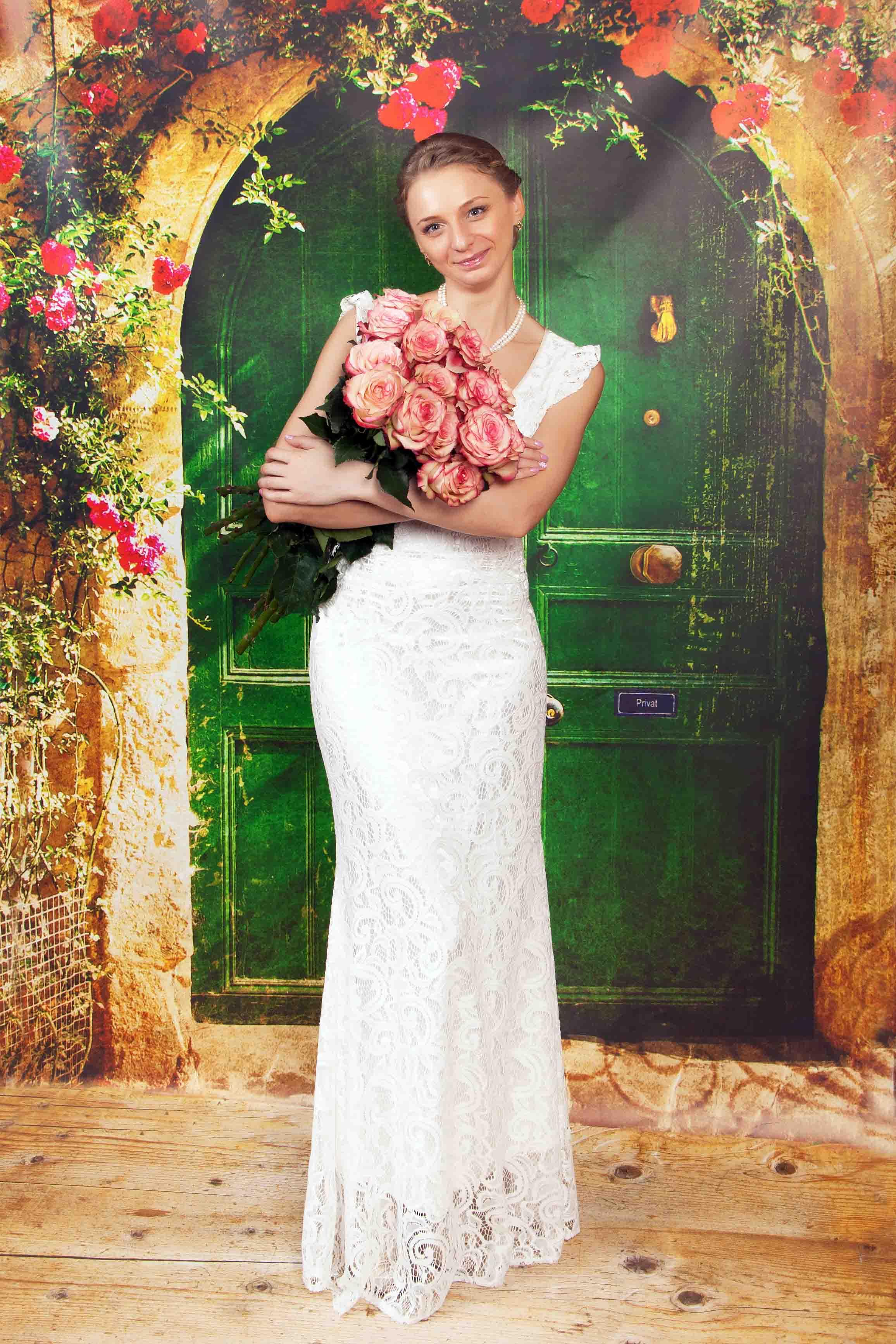 свадебная фотосессия в фотостудии в Бресте