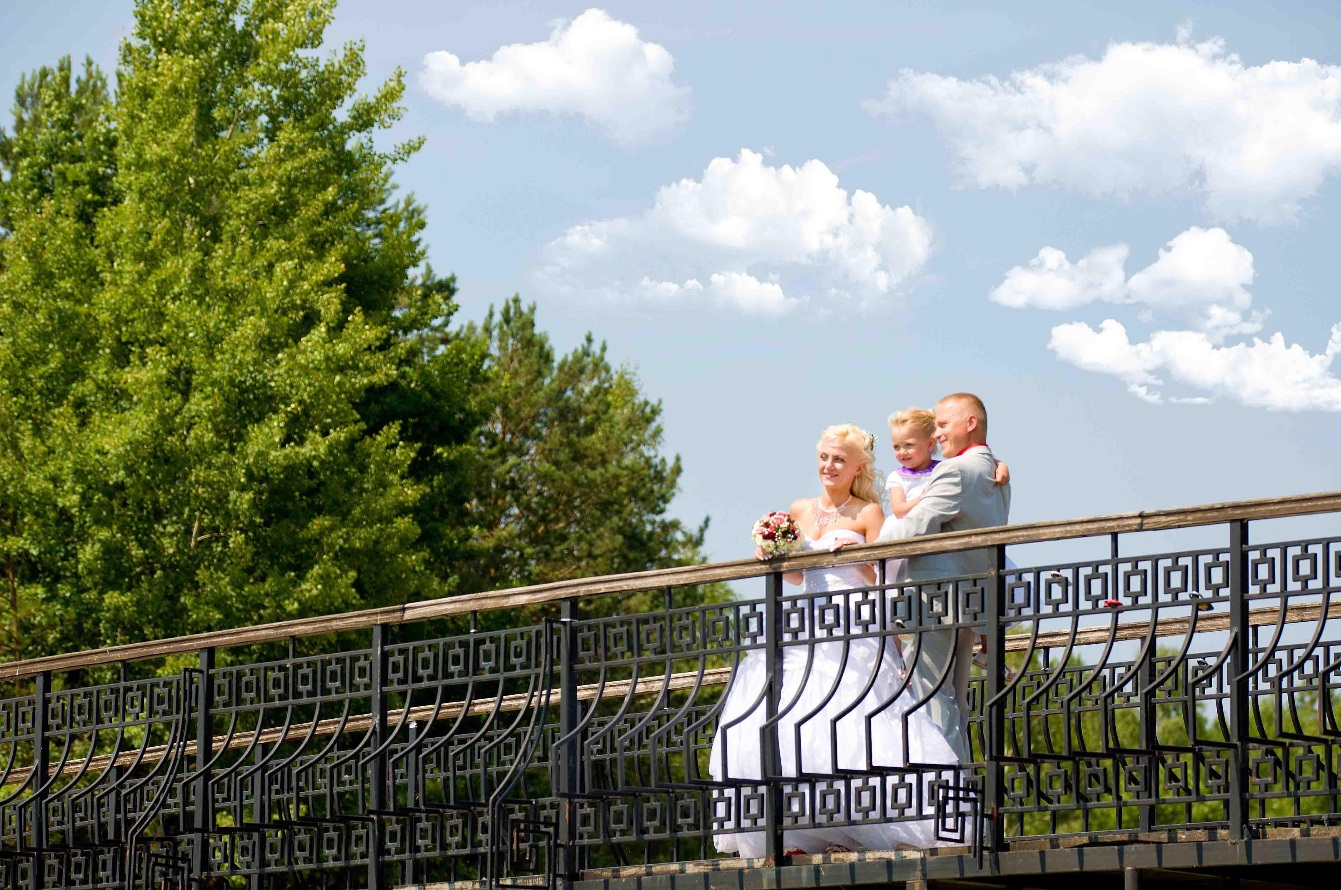 свадебная фотосессия на природе Брест