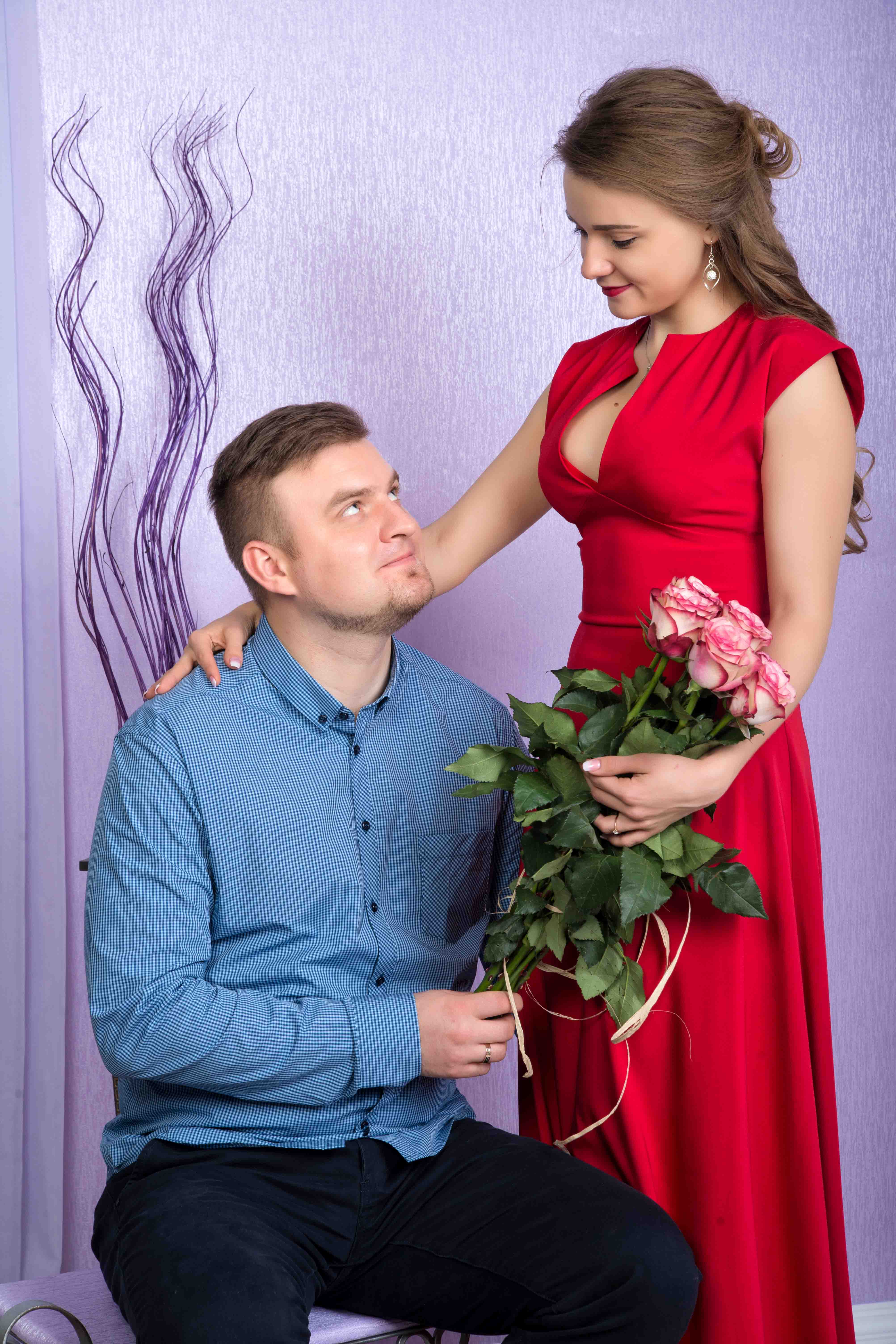 Свадебная фотосессия в студии Брест