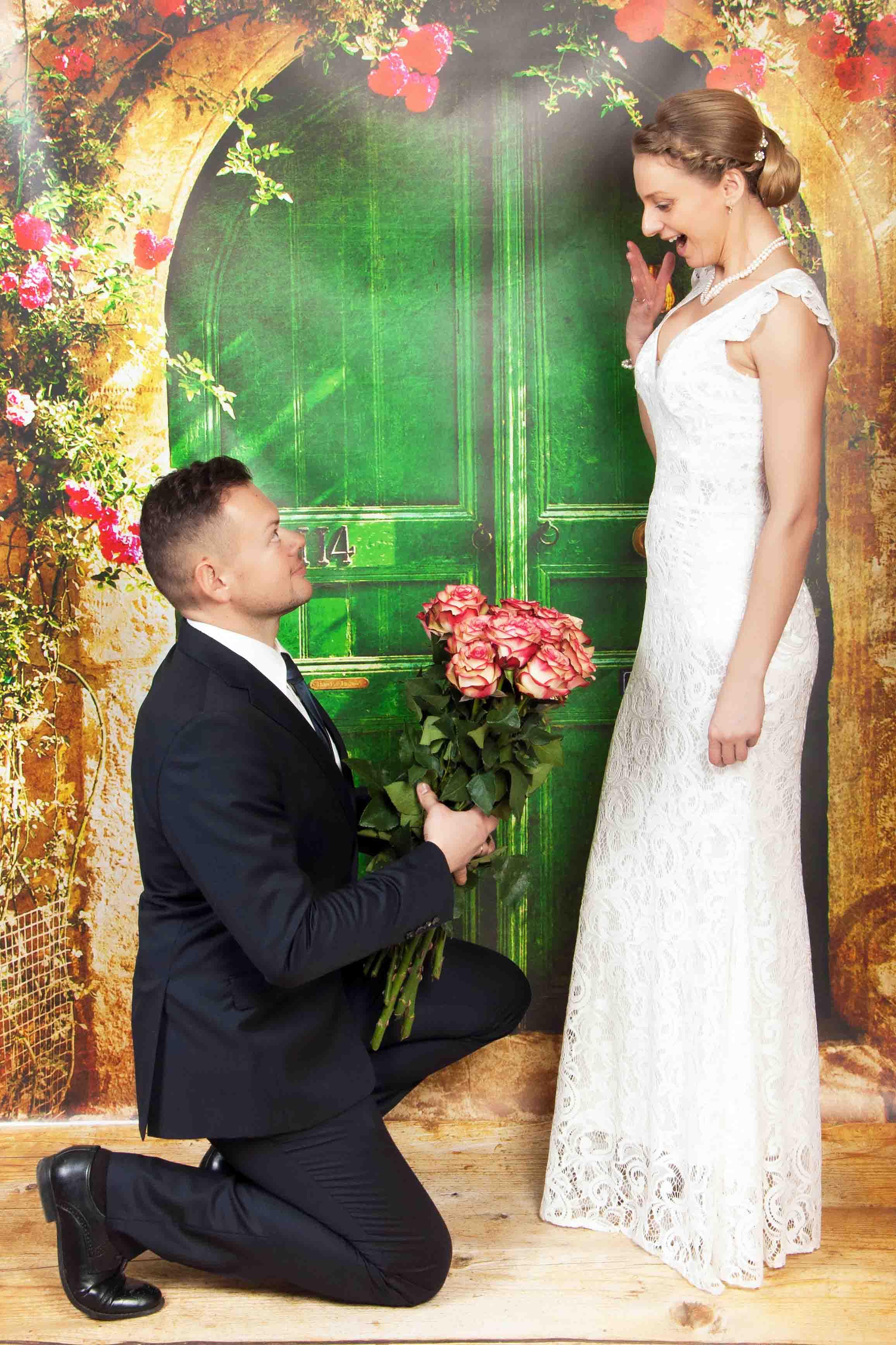 свадебная студийная фотосессия Брест