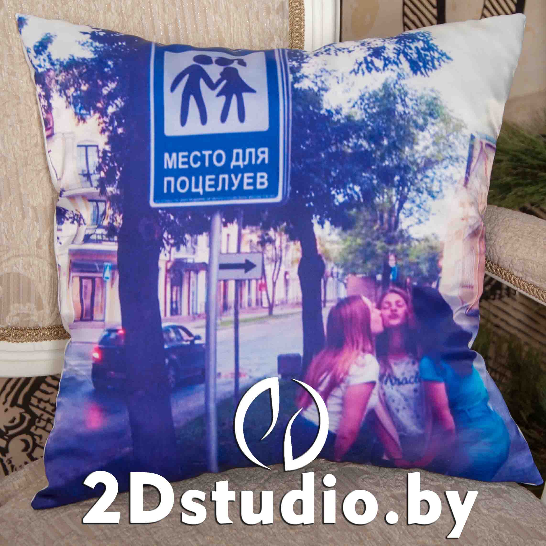 подушка с фотографией брест