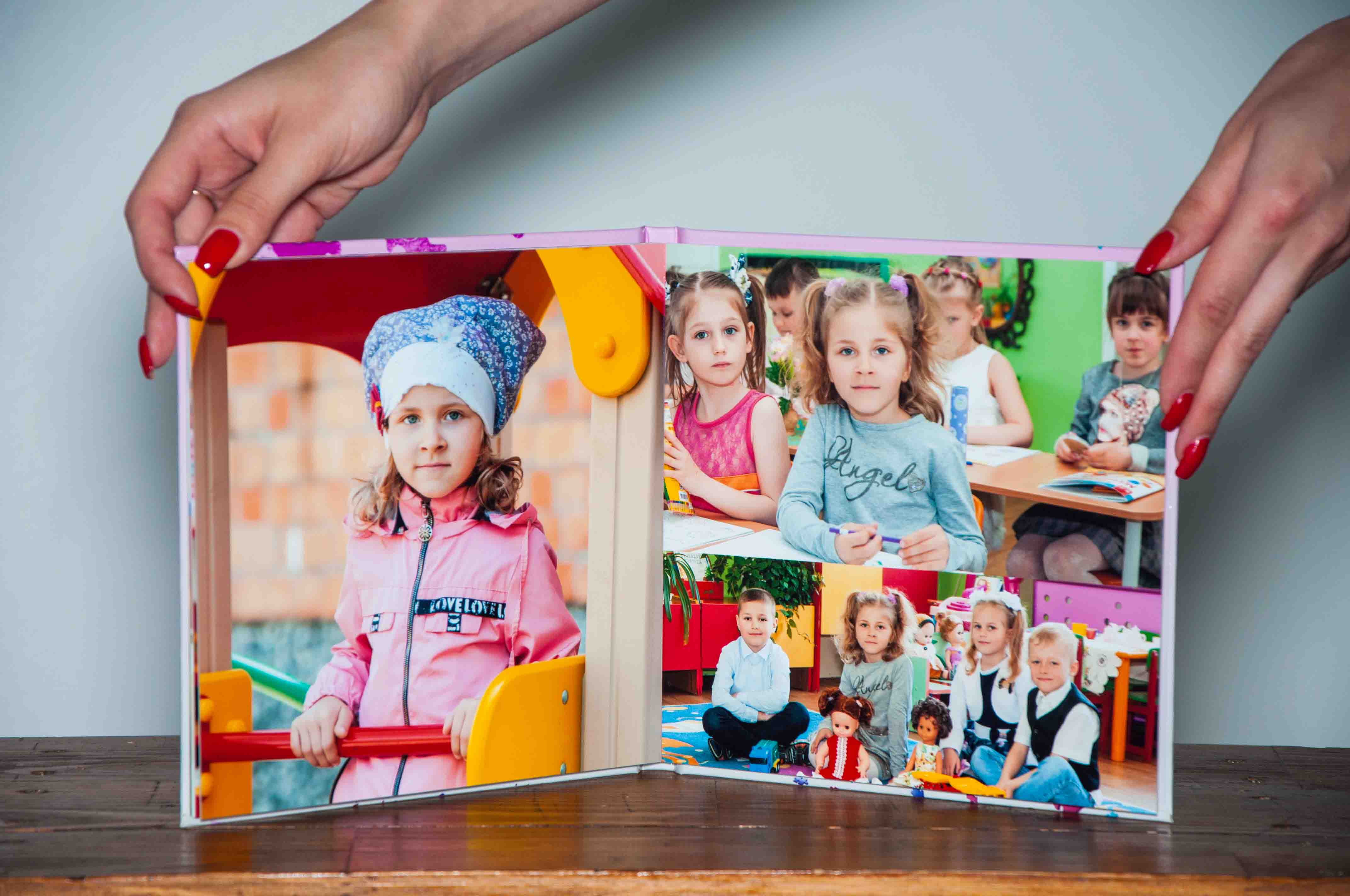 выпускной альбом детский сад