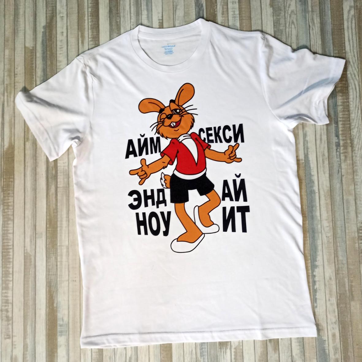футболка с принтом брест